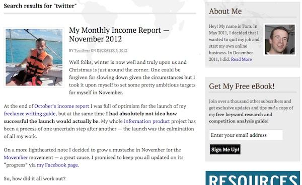 Búsqueda de WordPress