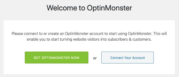 Conecte su cuenta de OptinMonster a WordPress