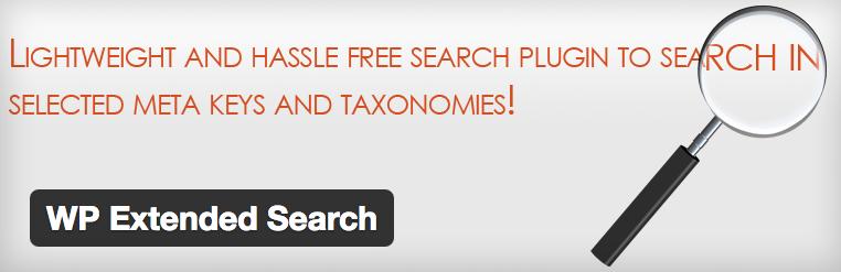 Complemento de búsqueda extendida de WP