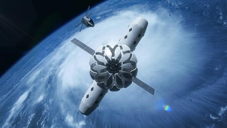 Grafeno en el espacio: Wonder Material refuerza el nuevo prototipo de hábitat espacial
