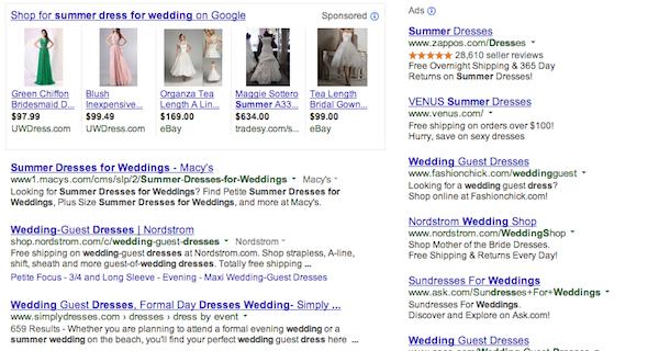Resultados de búsqueda de Google para vestido de verano para boda