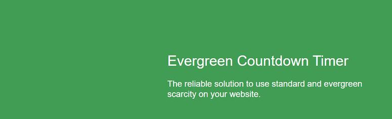 Evergreen Countdown Timer, complemento de temporizador de cuenta regresiva