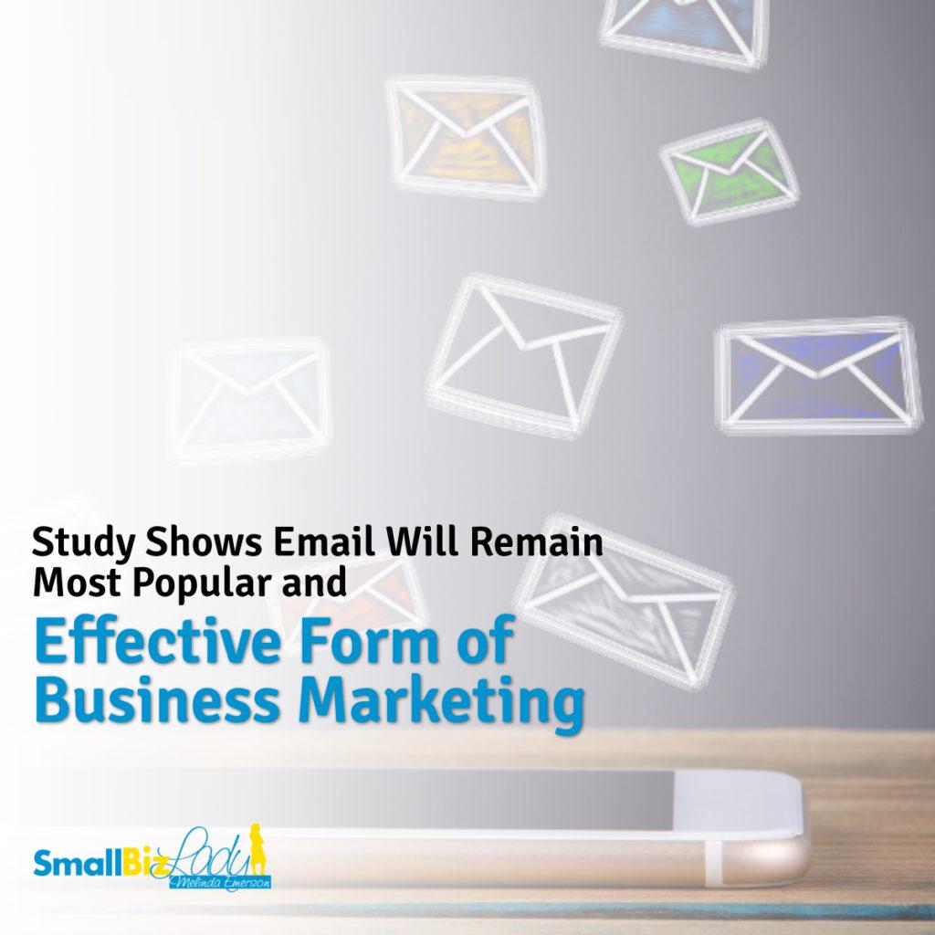 Un estudio muestra que el correo electrónico seguirá siendo la forma más popular y eficaz de imagen social de marketing empresarial