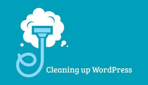 Limpieza de la base de datos de WordPress