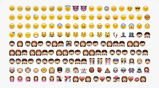 Emojis compatibles con WordPress desde la versión 4.2