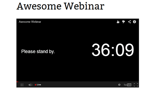Hangout en vivo de Google+ integrado en WordPress