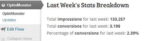 Estadísticas de OptinMonster