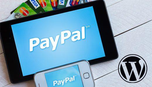 PayPal y WordPress