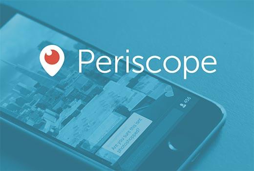 Muestre su estado de Periscope en el aire en su sitio web de WordPress