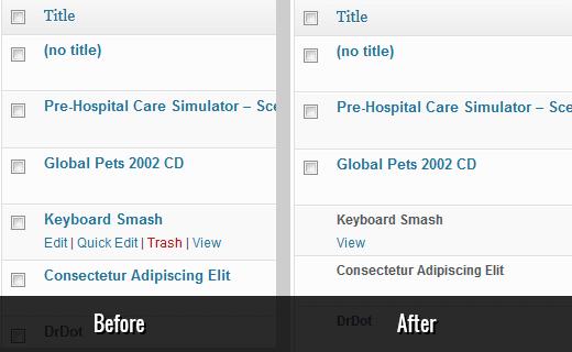 Bloqueo de actualizaciones de publicaciones y eliminación de publicaciones anteriores publicadas en WordPress