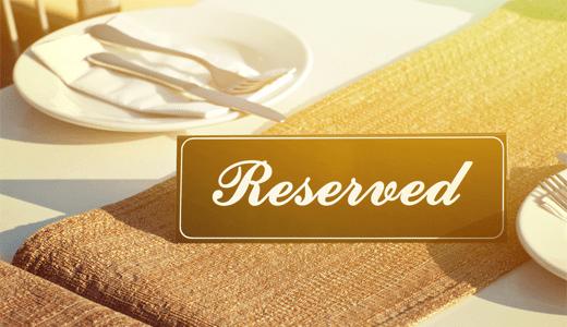 Reserva de restaurante WordPress