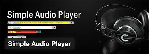 Reproductor de audio simple