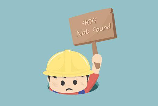 Arreglando publicaciones de WordPress que devuelven el error 404